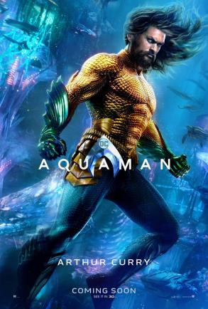 "Aquaman ""Arthur Curry"" Character Poster"