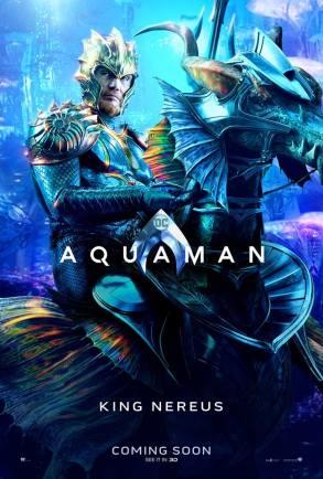 "Aquaman ""King Nereus"" Character Poster"