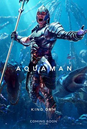 "Aquaman ""King Orm"" Character Poster"