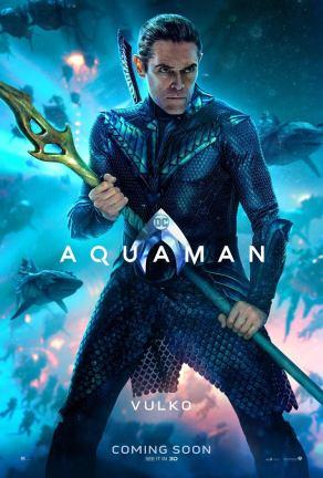 "Aquaman ""Vulko"" Character Poster"