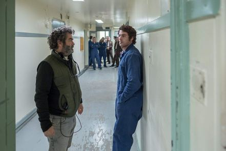 Joe Berlinger & Zach Efron on set Extremely Wicked, Shockingly Evil and Vile 1