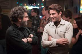 Joe Berlinger & Zach Efron on set Extremely Wicked, Shockingly Evil and Vile