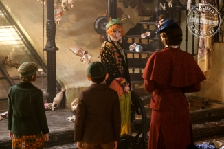 Emily Blunt, Meryl Streep, Pixie Davies, & Nathanael Saleh in Mary Poppins Returns