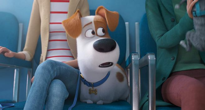 Max (voiced by Patton Oswalt) for The Secret Life of Pets 2