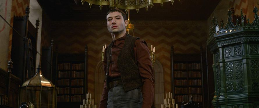Ezra Miller in Fantastic Beasts: The Crimes of Grindelwald