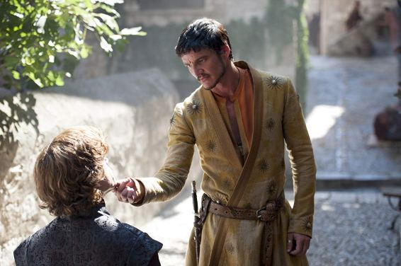 Peter Dinklage & Pedro Pascal in Game of Thrones
