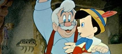 Pinocchio and Geppetto in Pinocchio