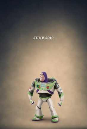 Buzz Lightyear Toy Story 4 Official Poster