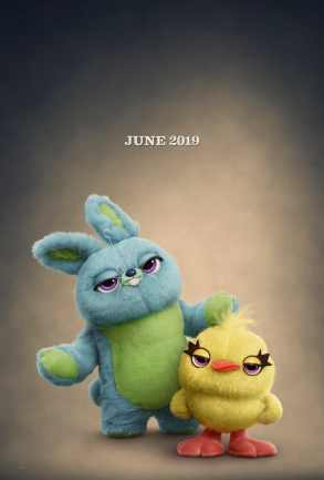 Ducky and Bunny in Toy Story 4 Official Poster