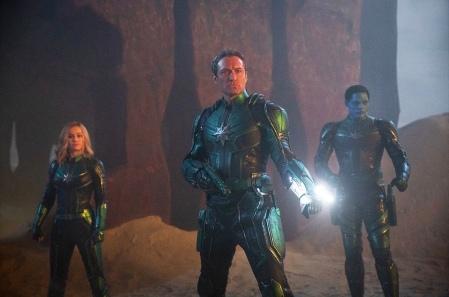 Brie Larson & Jude Law in Captain Marvel