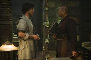 Benedict Cumberbatch & Benedict Wong in Doctor Strange