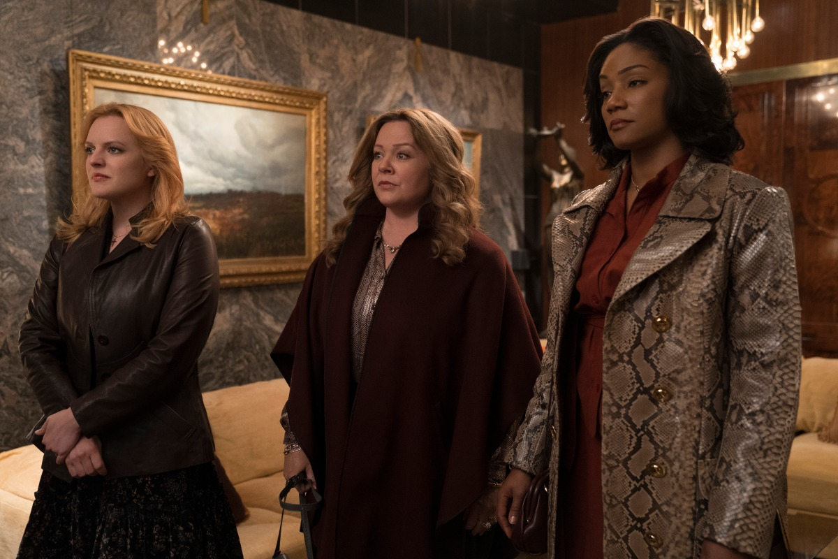 First Look: Elisabeth Moss, Melissa McCarthy & Tiffany Haddish Lead the Mob in 'The Kitchen'