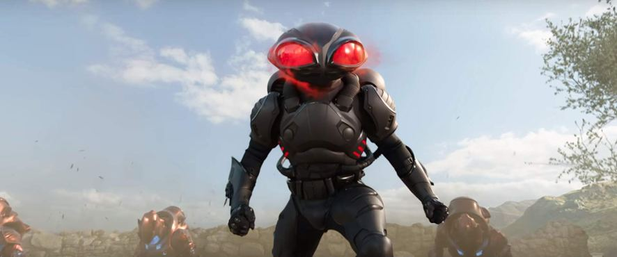Yahya Abdul-Mateen II as Black Manta in Aquaman