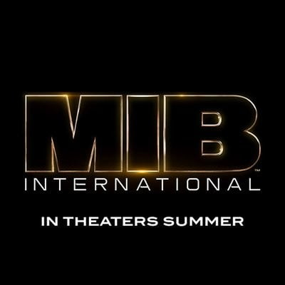 Men in Black International Logo