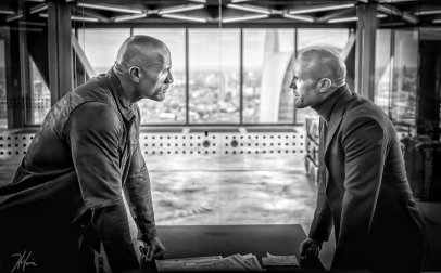 Dwayne Johnson & Jason Statham in Hobbs & Shaw