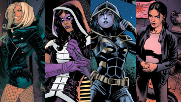 Birds of Prey Comic Cast