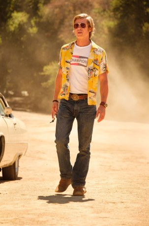 brad pitt in once upon a time in hollywood 2