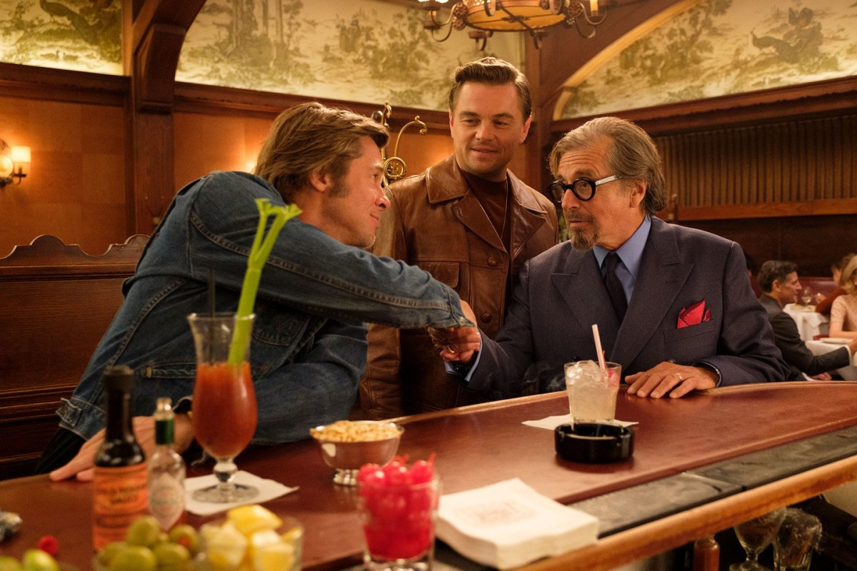 Brad Pitt, Leonardo DiCaprio & Margot Robbie Step Into 1969 In First 'Once Upon a Time in Hollywood' Posters