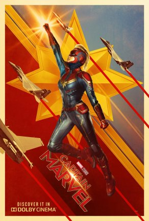 Captain Marvel Dolby Digital Poster