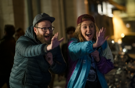 Seth Rogen & Charlize Theron in Long Shot