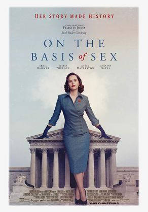 On The Basis of Sex Official Poster