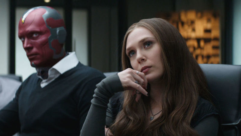 Vision and Scarlett Witch