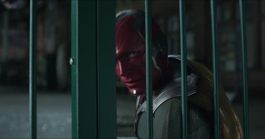 Paul Betttany as Visison in Avengers: Infinity War