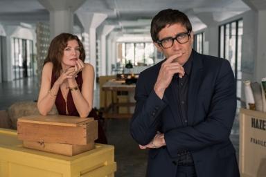 Rene Russo & Jake Gyllenhaal in Velvet Buzzsaw