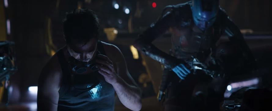 Robert Downey Jr. Karen Gillan Iron Man Nebula Avengers: End Game