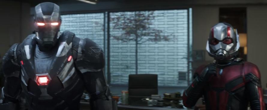Don Cheadle War Machine Paul Rudd Ant-Man Avengers: End Game
