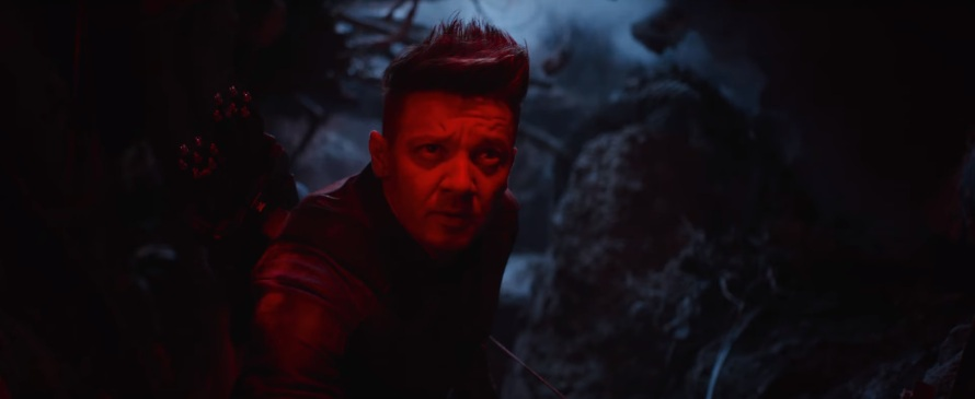 Jeremy Renner Hawkeye Ronan Avengers: End Game