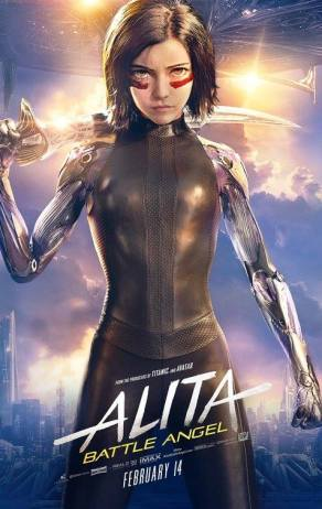 Alita: Battle Angel Official Poster