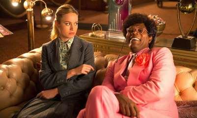 Brie Larson & Samuel L. Jackson in Unicorn Store