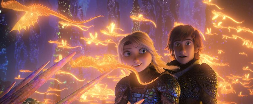 Hiccup and Astrid How to Train Your Dragon