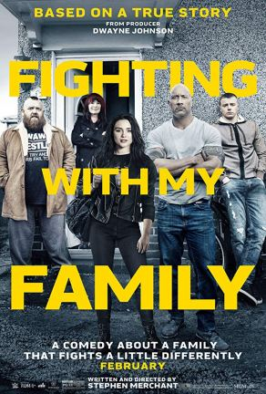Fighting with my Family Official Poster