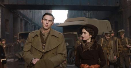 Nicholas Hoult & Lily Collins in Tolkien