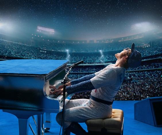 Taron Egerton as Elton John in Rocketman
