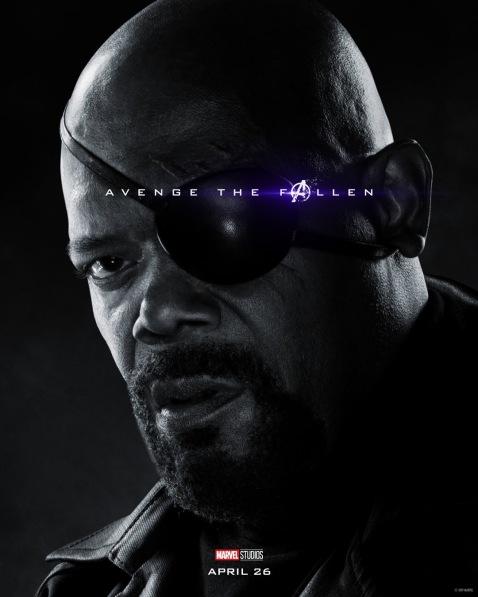 Avengers: Endgame Nick Fury Poster