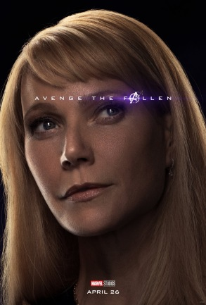 Avengers: Endgame Pepper Potts Poster