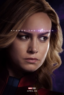 Avengers: Endgame Captain Marvel Poster