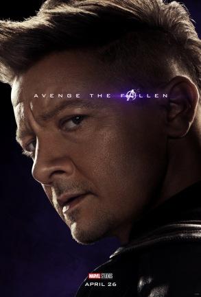 Avengers: Endgame Hawkeye Poster