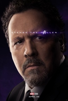 Avengers: Endgame Happy Hogan Poster