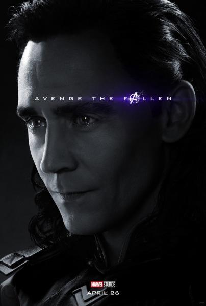 Avengers: Endgame Loki Poster