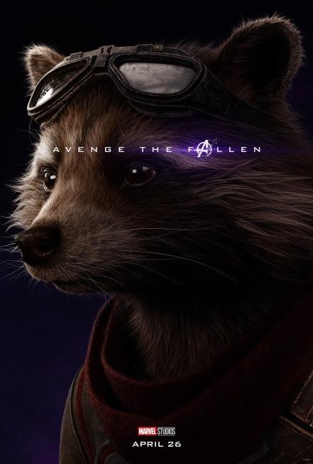 Avengers: Endgame Rocket Poster