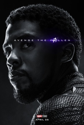 Avengers: Endgame Black Panther Poster