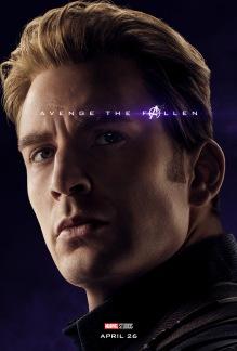 Avengers: Endgame Captain America Poster