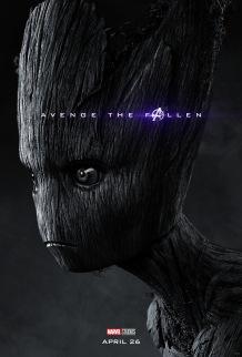 Avengers: Endgame Groot Poster