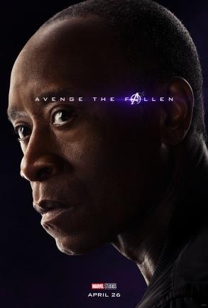 Avengers: Endgame Rhodey Poster