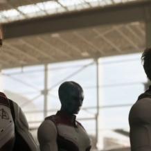 Scarlett Johnasson, Karen Gillan & Robert Downey Jr. in Avengers: Endgame