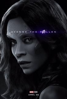 Avengers: Endgame Gamora Poster